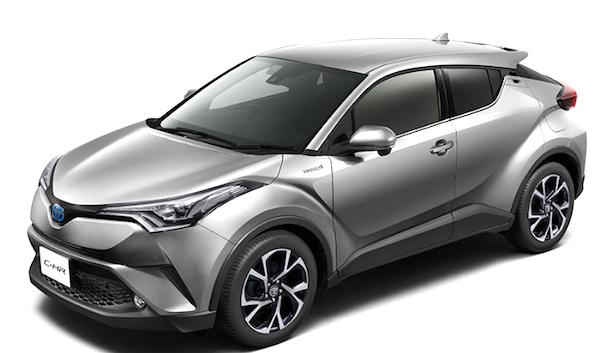2016年12月発売トヨタC-HR
